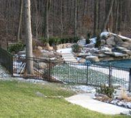 Aluminum Pool Fence Style B