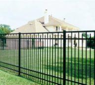 Aluminum Fence Style C