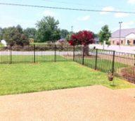 Aluminum Perimeter Fence Style C