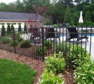 Style B Aluminum Pool Fence